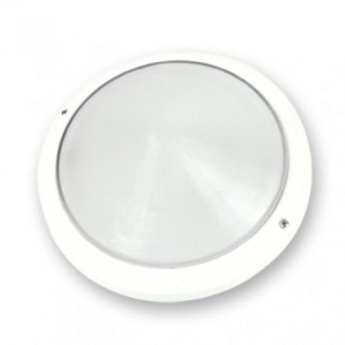 Πλαφονιέρα 200 Πλαστική Λευκή Lido